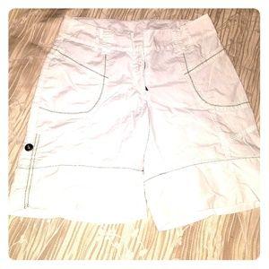 !White Fansy Schmansy Shorts